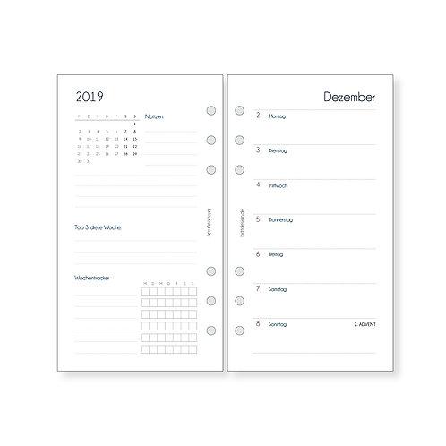 Kalendereinlagen Personal   WOCHENPLANER