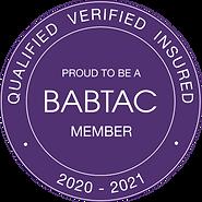 2020 - 2021 BABTAC Logo