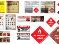 New and aged warning labels