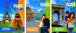 Young Paris Travel Posters