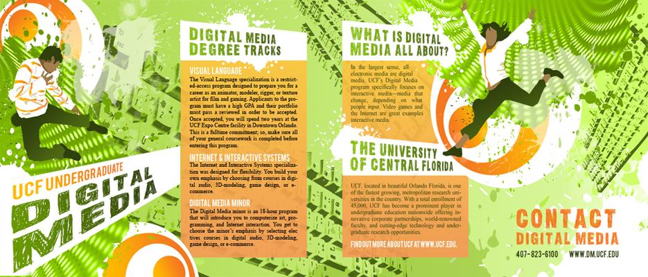 Digital Media Brochure