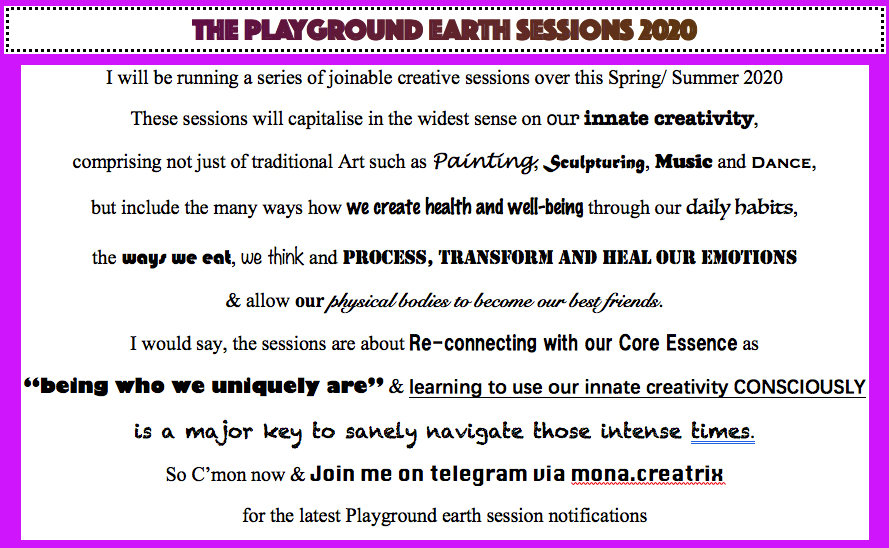 PLAYGROUND EARTH SESSIONS. PHOTOSHOP SCR