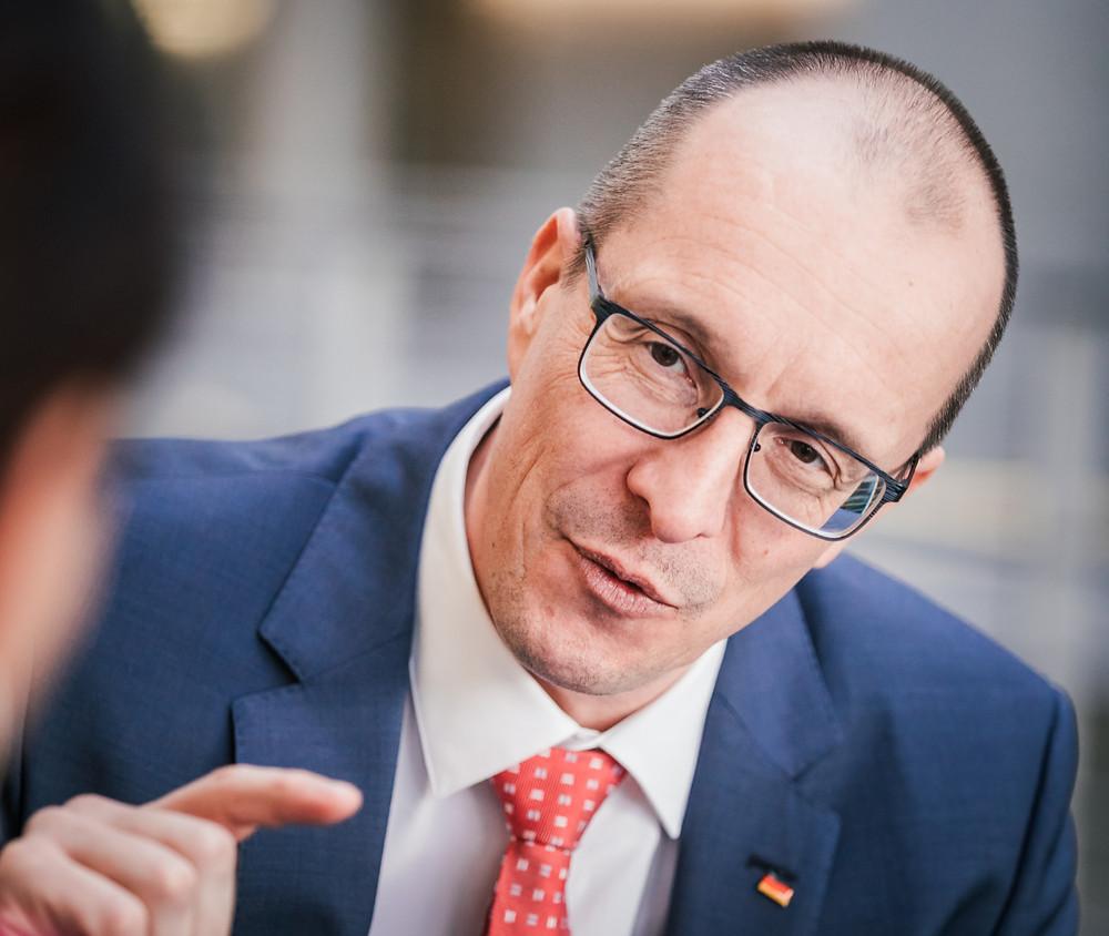 Peter Stein, MdB / Bild: (c) Tobias Koch