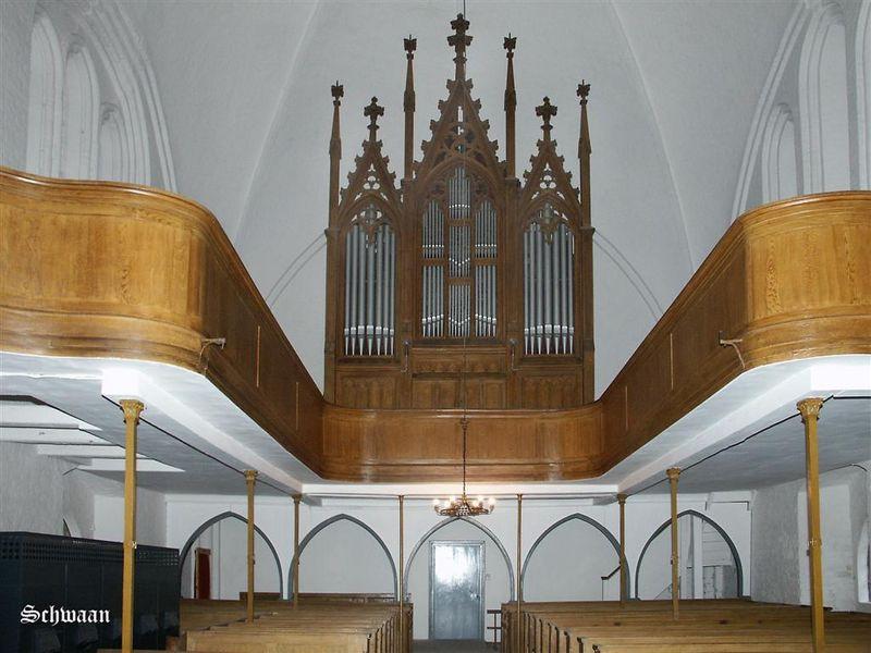 Historische Orgel aus dem Jahr 1860 / Bild: www.kirche-mv.de