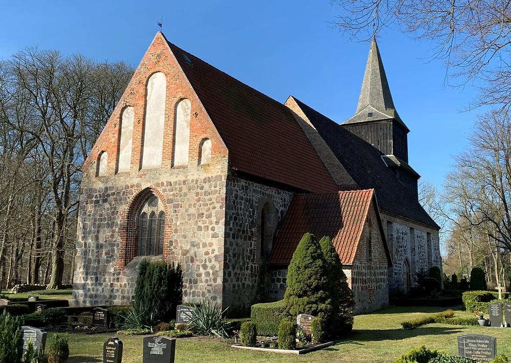 Frühgotische Kirche Blankenhagen / Bild: Peter Stein privat