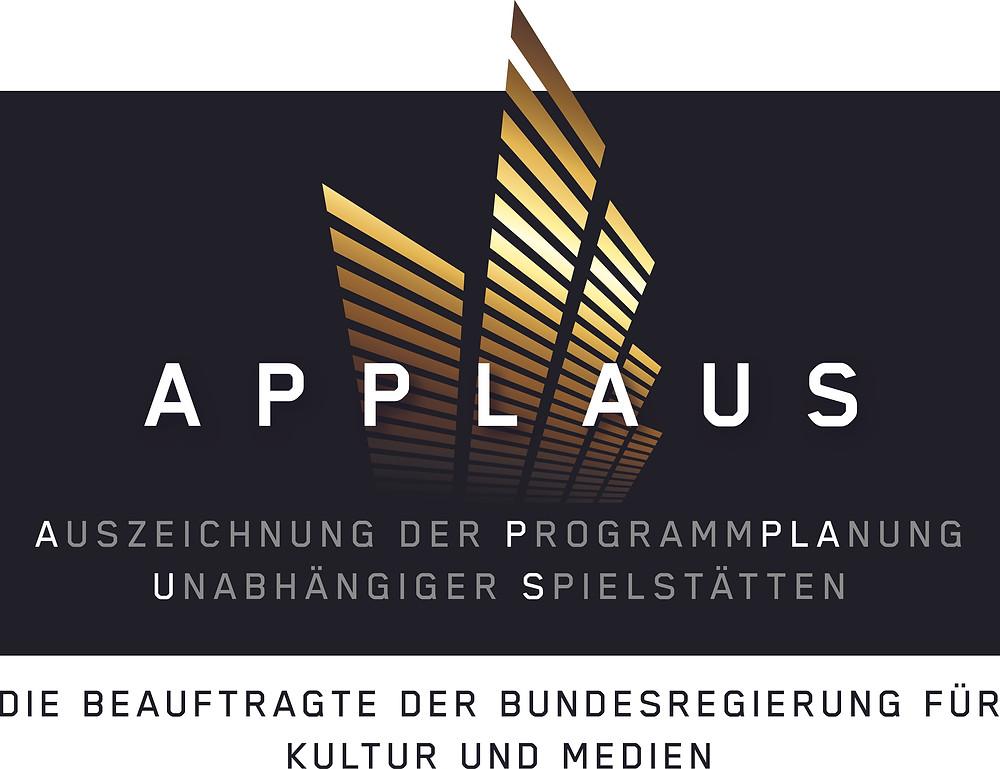 Logo APPLAUS / www.initiative-musik.de