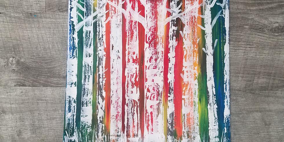 Sip N' Paint: Birch Pizazz