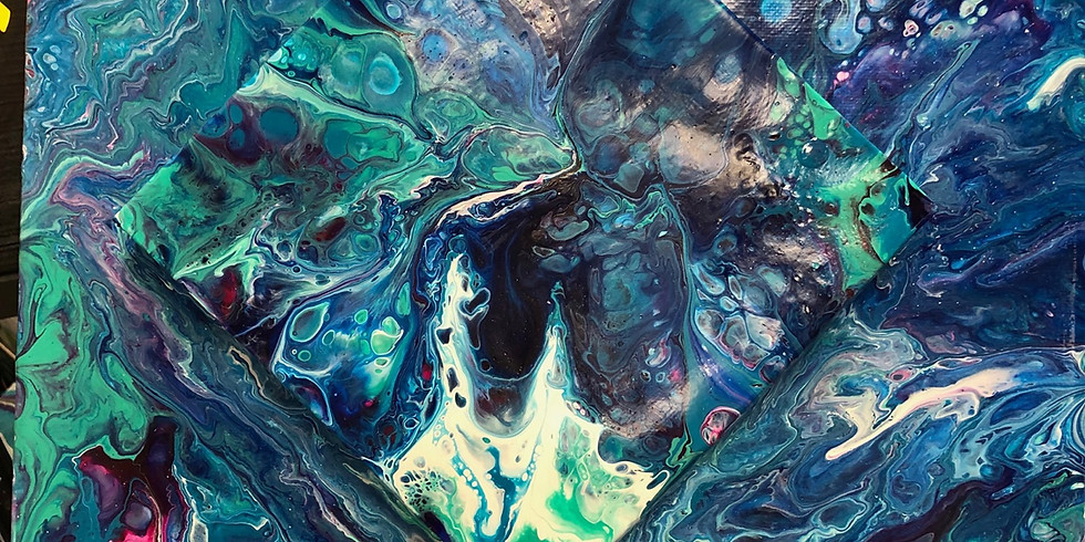 Acrylic Paint Pouring
