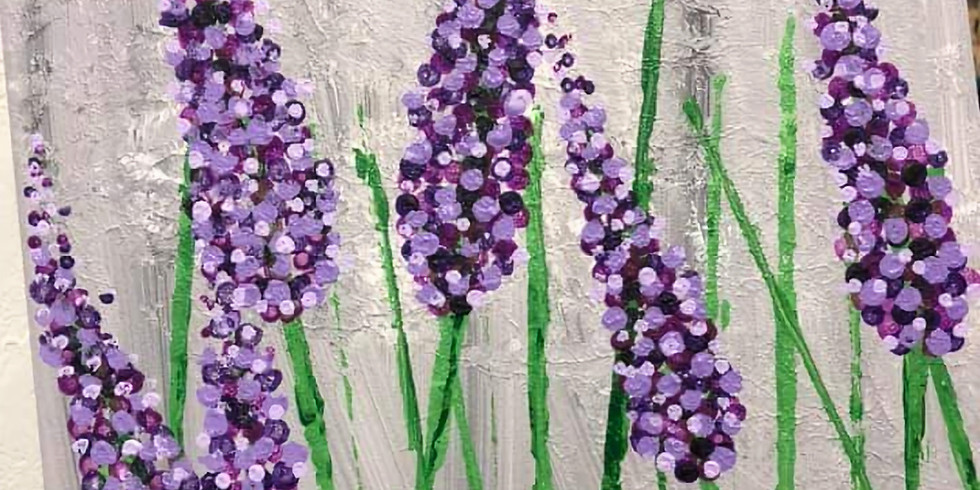 Lavender Sip & Paint