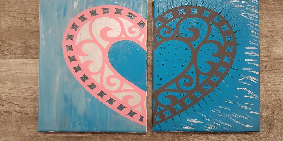 Sip N' Paint: Valentine's Day