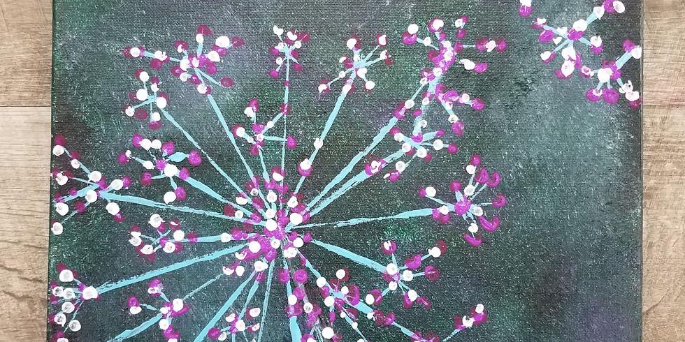 Sip N' Paint: In Bloom