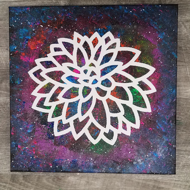 Sip N' Paint: Dahlia Galaxy
