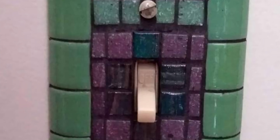 Mosaic Light Switch Covers