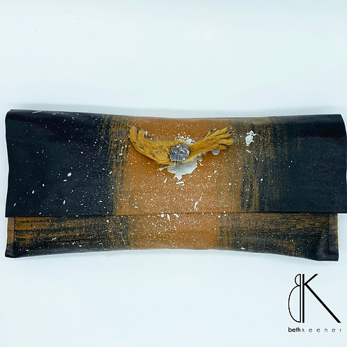 Squirrel & Talisman Artisan Clutch