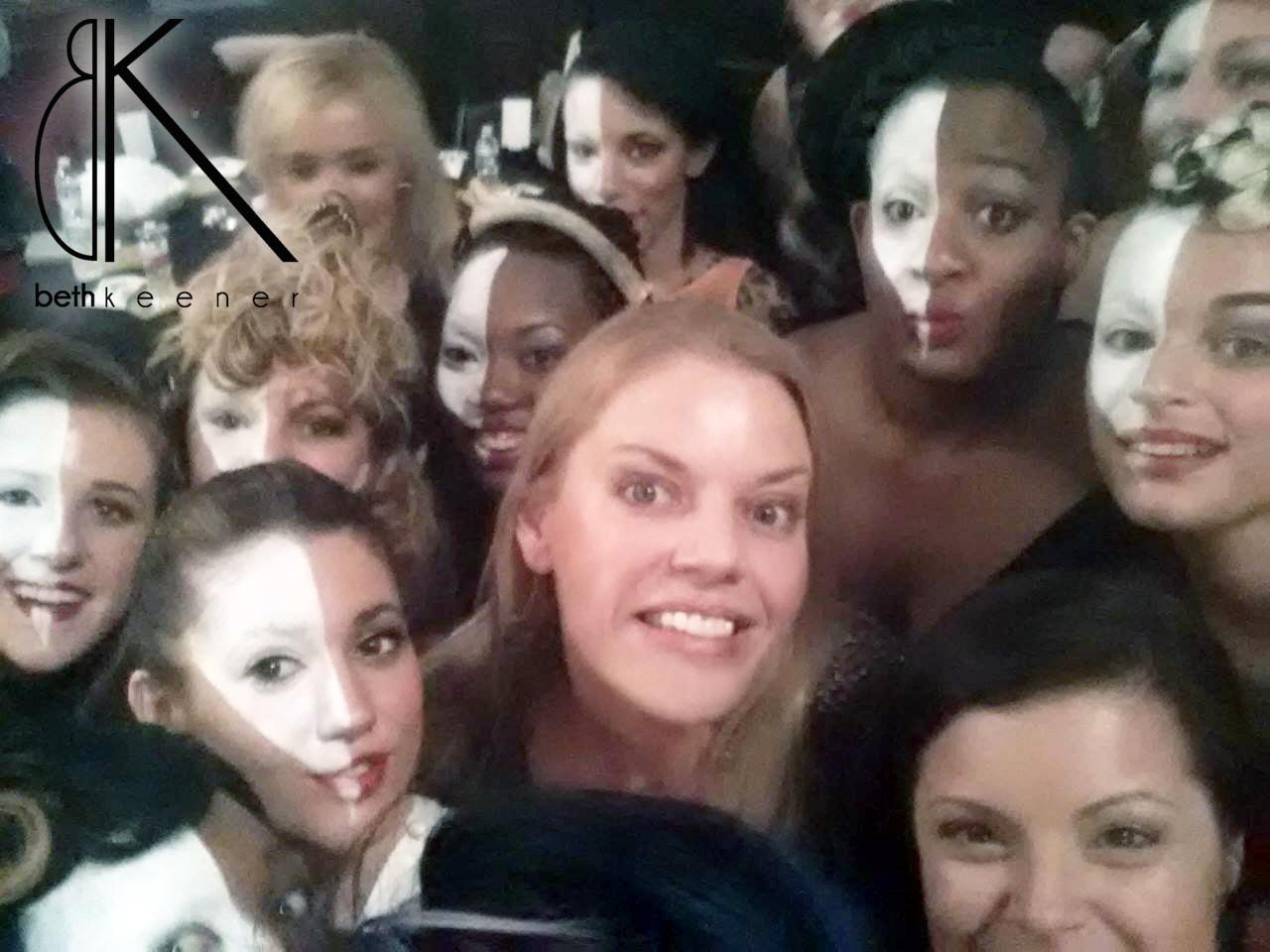 Fairmont, WV – Model Group Selfie