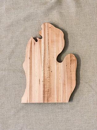 Maple Mitten Cutting Board