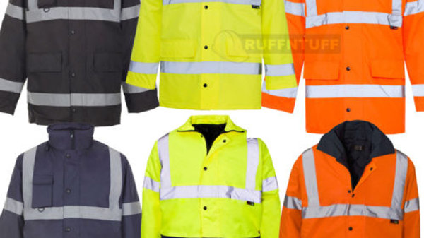 Hi Viz Security Jacket