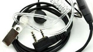 2 Pin Security Earpiece Headset for Baofeng Motorola Kenwood Radio Walkie Talkie