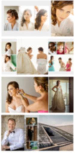 Wedding Album designed pages
