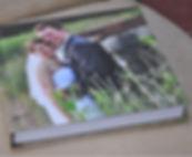 photo cover flush mount wedding album from White Dove Albums