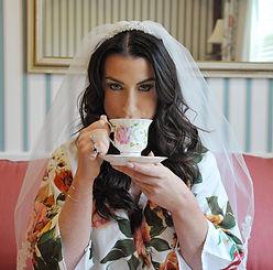 bride reviewing White Dove Albums