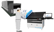 印刷 検査 品質  検査機 印刷品質検査装置 抜き取り 刷り出し 印刷物 オフライン検査機 方法 装置 紙面 枚葉 軟包装 フィルム グラビア ラベル PET ナイロン セロハン 紙器