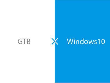 GTB製品のWindows10対応についてのお知らせ