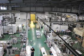 小松印刷様 A輪4ラインが稼働する綾川工場