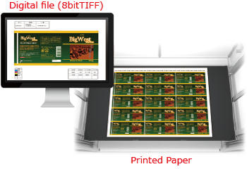 print inspection system machine software print inspection quality system device gravure film artwork pre-press