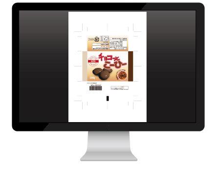 印刷 検査 紙カンプ 殖版データ デジタル グラビア 軟包装