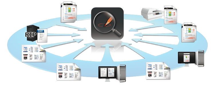 print inspection system machine software  Print inspection Plate quality artwork pre-press