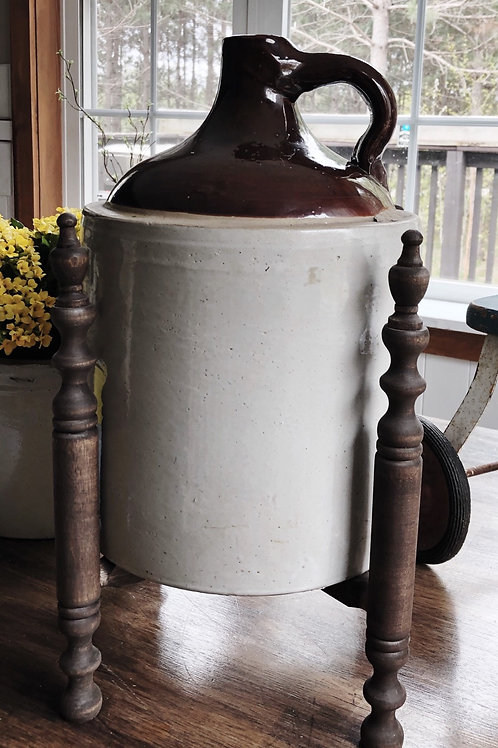 Antique Jug Crock 2 Gallon
