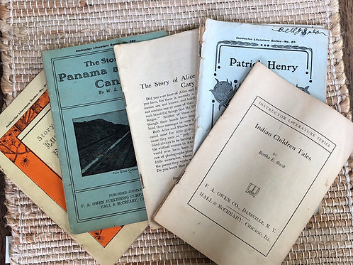 5 Historical Booklets
