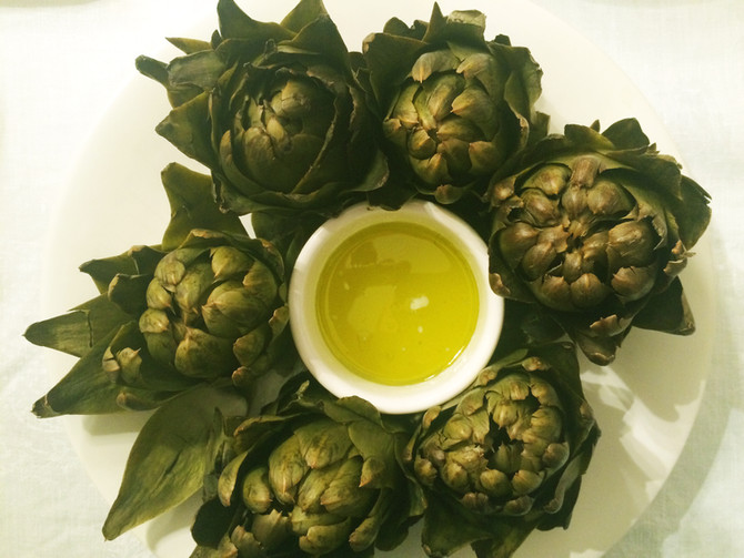 Artichokes Aïoli- The Ultimate Amuse Bouche