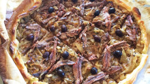 Pissaladière; A Caramelized Onion Tart