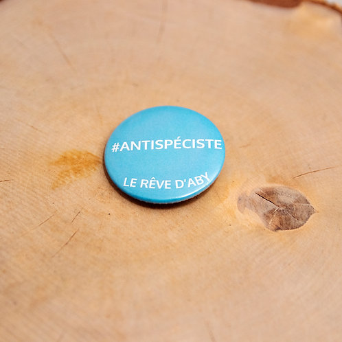 Badge #antispéciste LRA