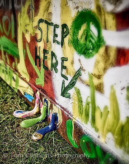 Step Here