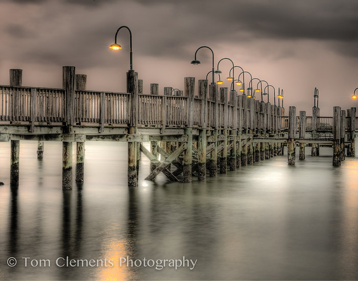 Evening At The Pier