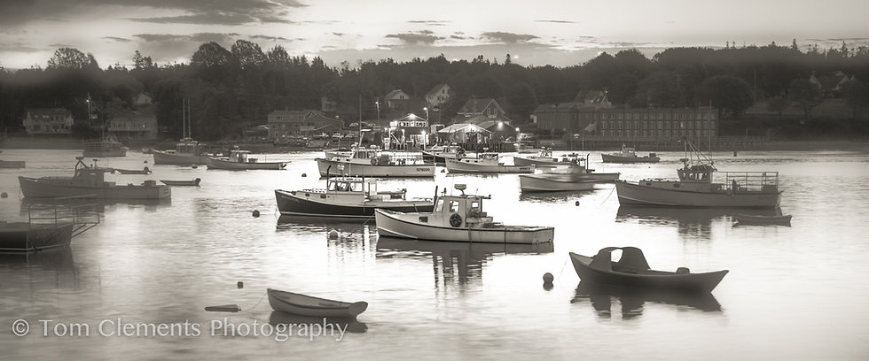 Boats Of Bass Harbor