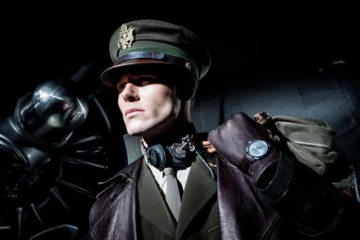Campagne 'Be an Airman' refereert naar één van de belangrijkste modellen van Glycine, Invicta