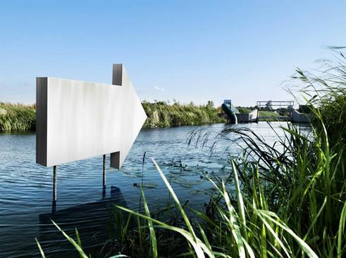 photoshop klus voor Het Waterschap Aa en Maas