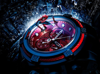 Invicta marvel horloge voor Capital Advertising