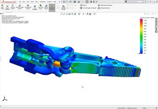 SolidWorks Simulation Standard | DPS, votre partenaire simulation SolidWorks
