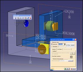 ANATOLE 3D tolérancement CATIA | 3D Master Mecamaster 3DCS