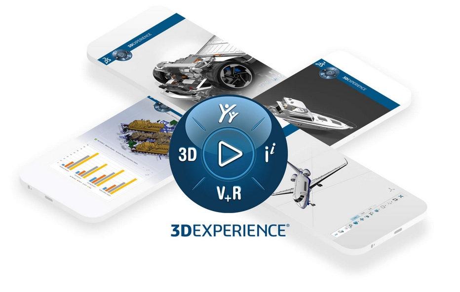 3DX plateforme 3DExperience Dassault Systèmes
