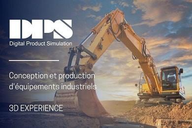 Webinar 3DEXPERIENCE® - Conception et production d'équipements industriels sur la plateforme