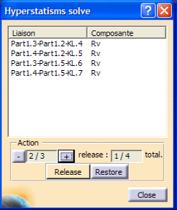 Solveur Hyperstatisme ANATOLE | logiciel intégré à CATIA