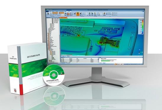 CST Studio Suite - logiciel de simulation électromagnétique