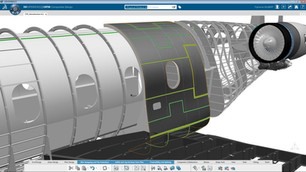 CATIA Conception composite - 2DEXPERIENCE
