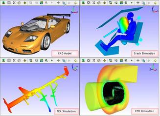 Vcollab presenter : Visualisation des résultats en 3d